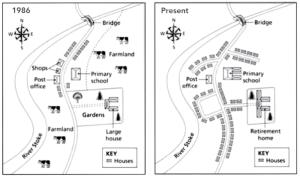 توصیف نقشه در رایتینگ task 1 آکادمیک